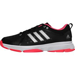 adidas Barricade Classic Bounce Men's Tennis Shoe - Black/Red/White