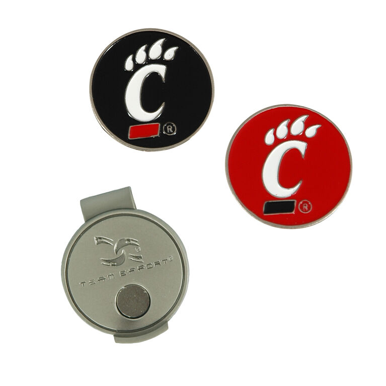 Team Effort Cincinnati Bearcats Hat Clip