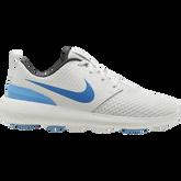 Roshe G Men's Golf Shoe - White/Carolina Blue