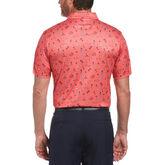 Alternate View 1 of Golf Vacation Print Short Sleeve Golf Polo Shirt
