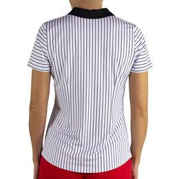 Jofit Prosecco Horizontal Stripe Zip Polo