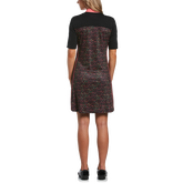 Alternate View 1 of Ditsy Floral Collection: Mini Funfetti Floral Print Short Sleeve Golf Dress