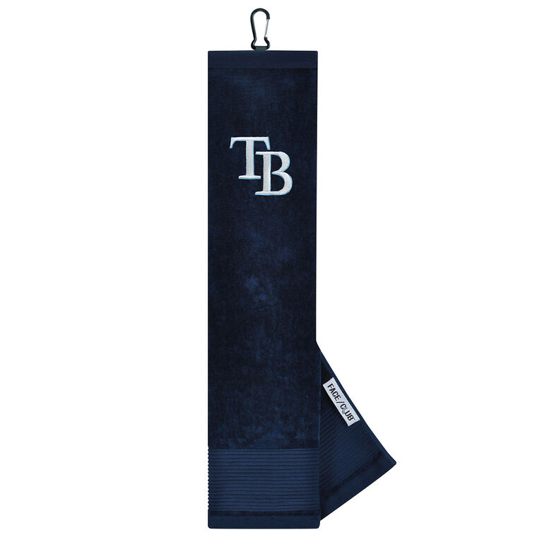 Team Effort Tampa Bay Rays Tri-fold Embroidered Towel