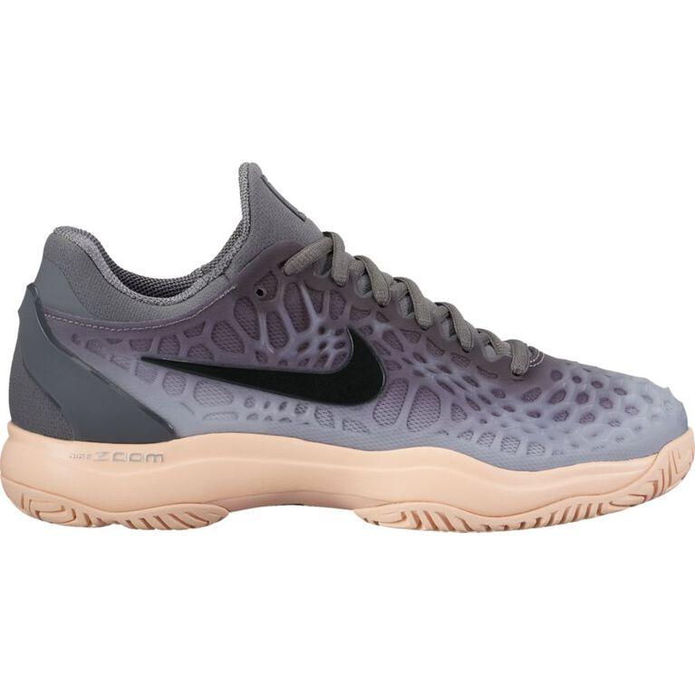Nike Zoom Cage 3 Women's Tennis Shoe - Grey