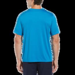 Gradient Multi Chest Print Short Sleeve Tee Shirt