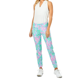 Corso Best Fishes Print Performance Twill Pant