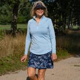 "NashVegas Collection: Camo Print 18"" Golf Skort"