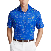 Classic Fit Shank Attack Polo Shirt