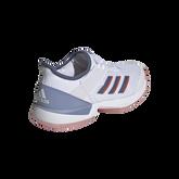 Alternate View 5 of Adizero Ubersonic 3 Women's Tennis Shoe - White/Blue