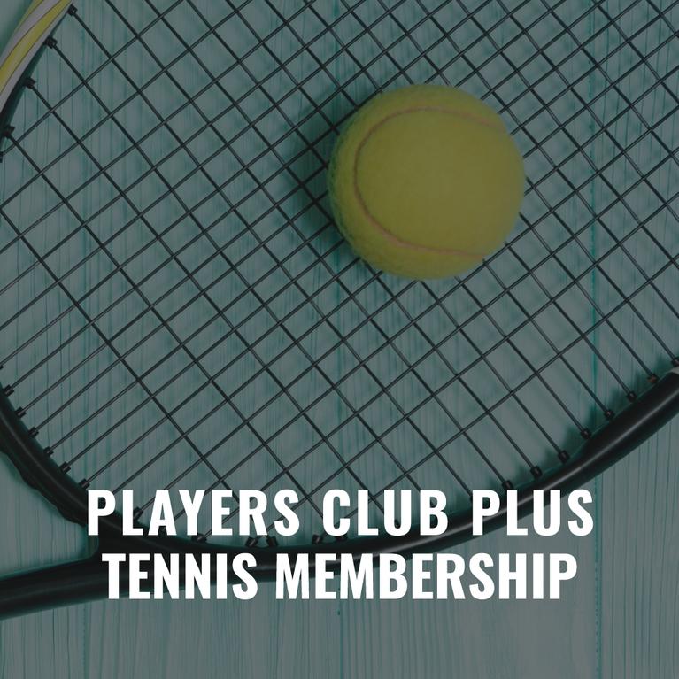 Players Club Tennis Membership Gift Certificate