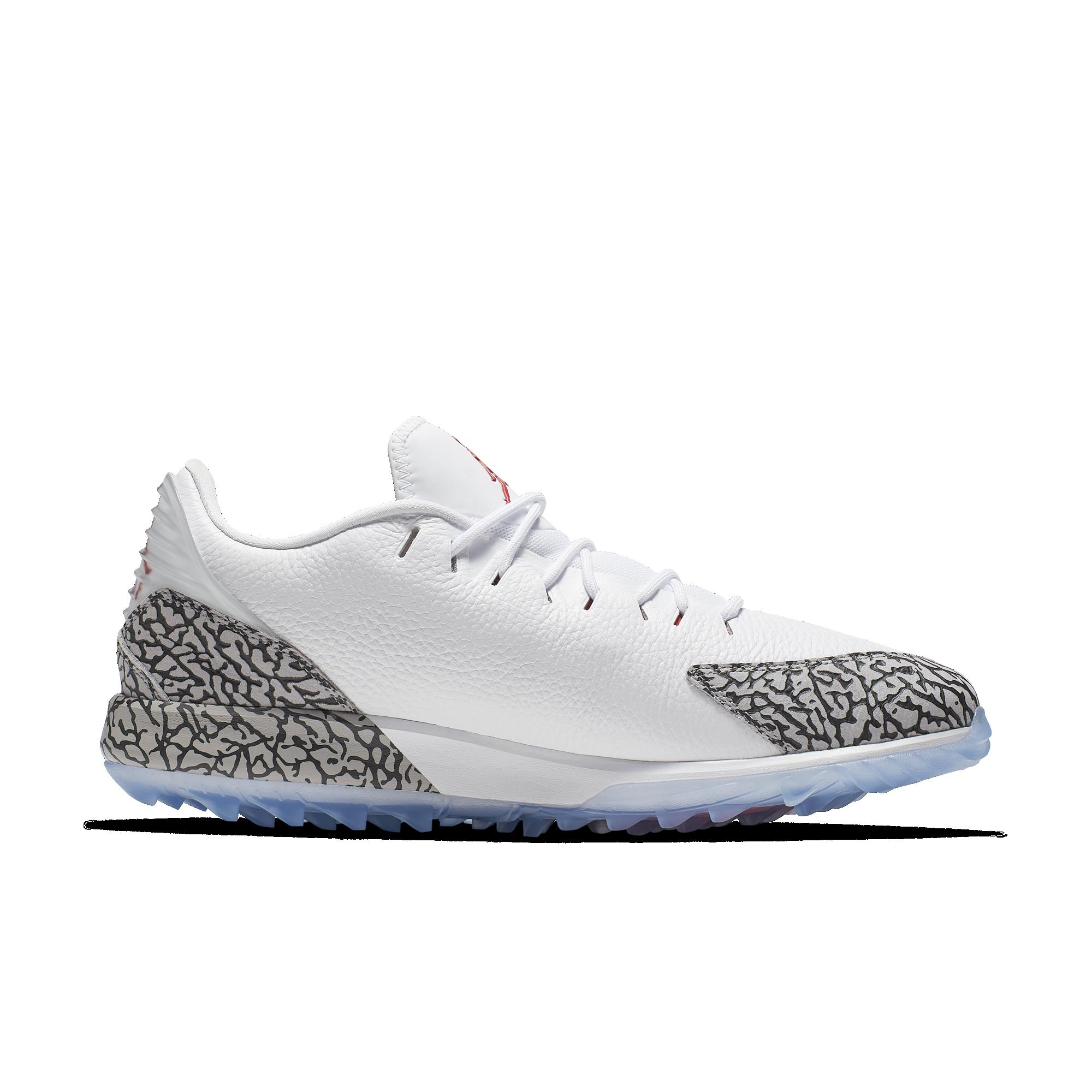 Jordan ADG Men's Golf Shoe - White/Red