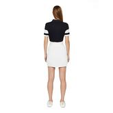 Alternate View 2 of Natasha Short Sleeved Colorblock Polo Shirt