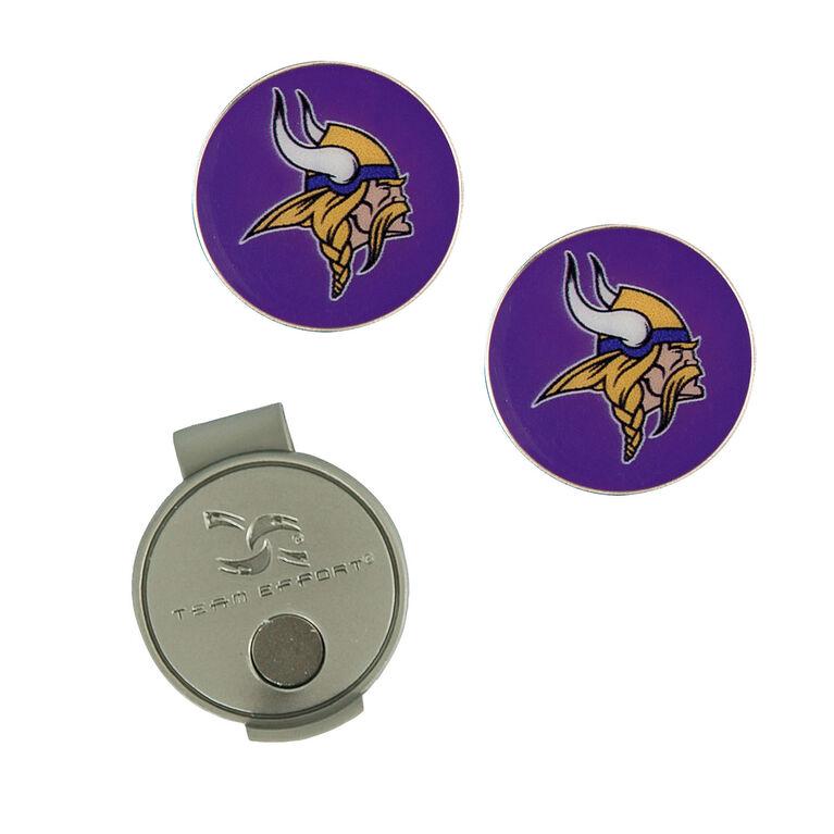 Team Effort Minnesota Vikings Hat Clip & Ball Marker