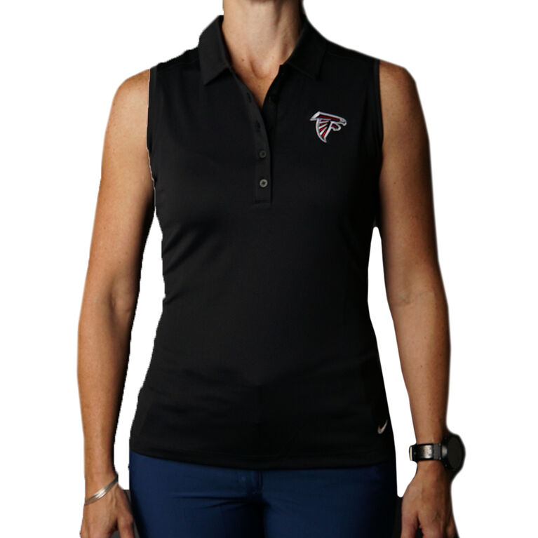Nike Dry Women's Falcons Sleeveless Golf Polo