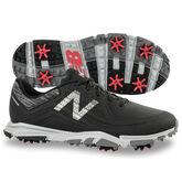 New Balance Minimus Tour Men's Golf Shoe - Black/White