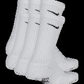 Alternate View 1 of Nike Kids Performance Cushioned Crew Training Socks (6 Pair)