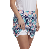 Alternate View 1 of Tropical Collection: Printed Scalloped Edge Skort