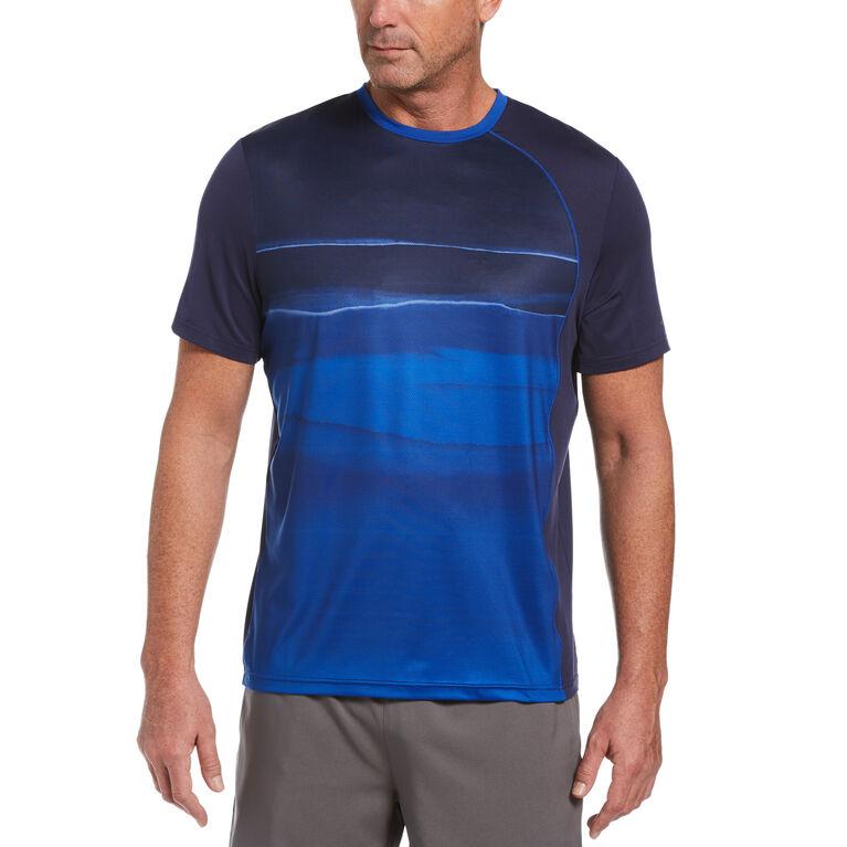 Watercolor Fade Out Short Sleeve Men's Tee Shirt