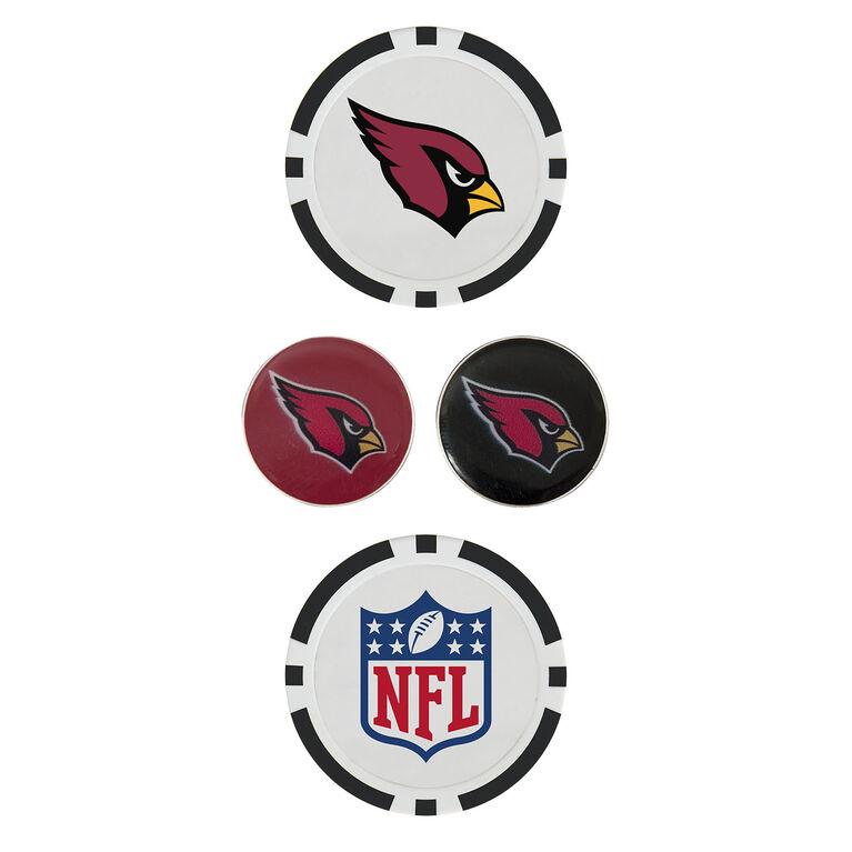 Team Effort Arizona Cardinals Ball Marker Set