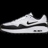 Alternate View 2 of Air Max 1 G Women's Golf Shoe - White/Black
