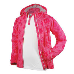 Garb Girls' Lola Full Zip Rain and Wind Jacket