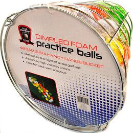 Foam Ball Basket - 42ct