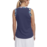 Alternate View 2 of Tropical Collection: Sleeveless Contrast Trim Tank Top