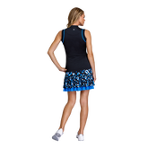 Alternate View 4 of Pacific Vista Collection: Louisa Sleeveless Piped Zip Top