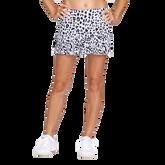 "Alaina Leopard Print 13.5""  Skort"