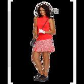 Alternate View 4 of Summer Sensation Collection: Cassie Sleeveless Snap Placket Top