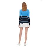 Alternate View 3 of Berthe Long Sleeve Block Stripe Sweater