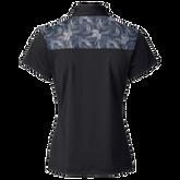 Alternate View 1 of Sigrid Mesh Yoke Short Sleeve Polo Shirt