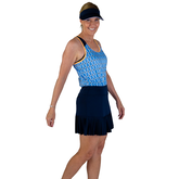 """Rojito Collection: Knife Pleat 14"""" Skort"""
