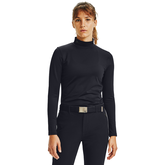 Long Sleeve ColdGear Infrared Women's Solid Mock Neck Top