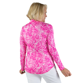 Alternate View 8 of Rojito Collection: Mosaic Print Quarter Zip Pull Over