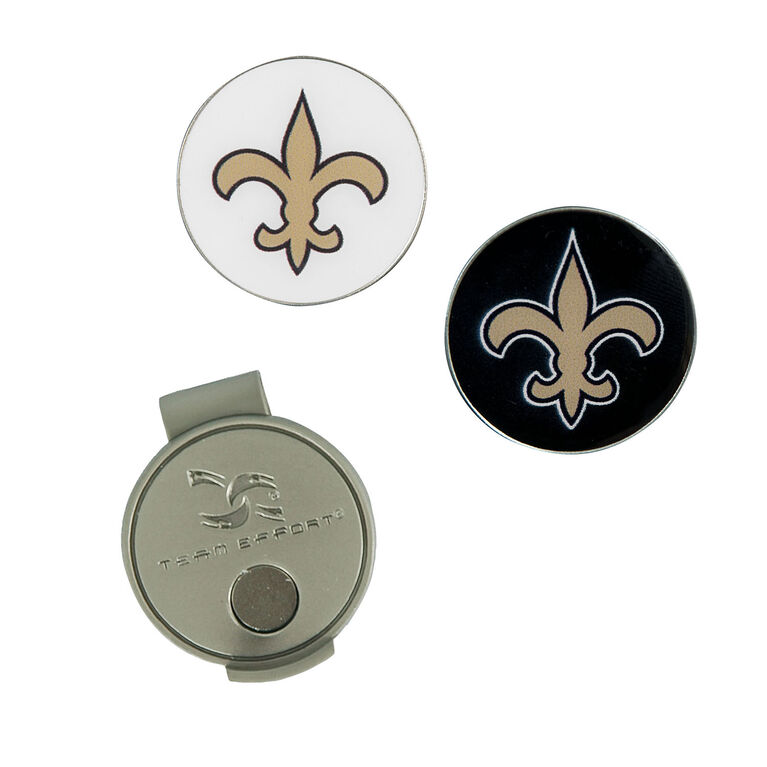 Team Effort New Orleans Saints Hat Clip & Ball Marker