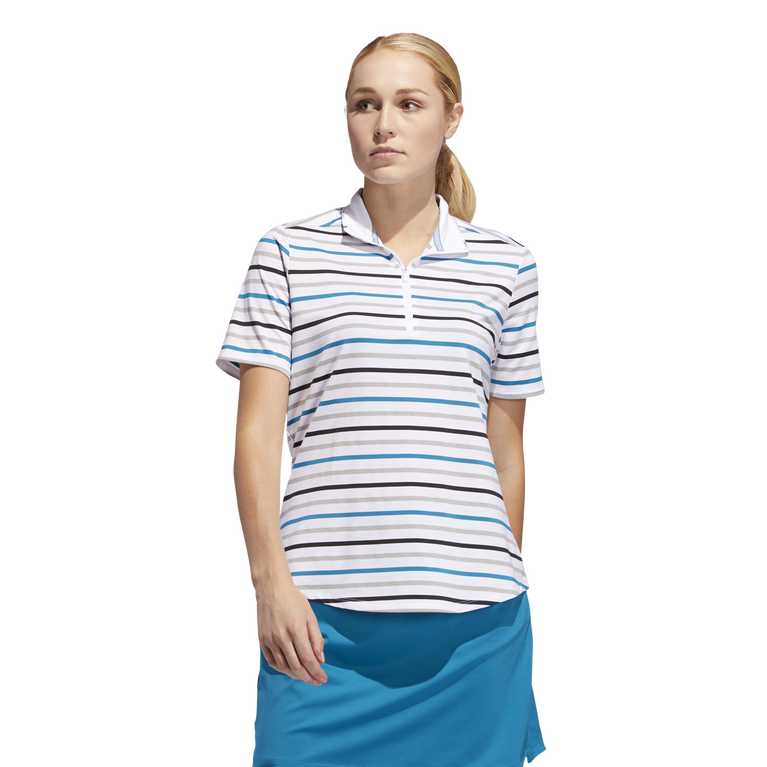 Ultimate Short Sleeve Stripe Polo Shirt