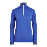 Alternate View 4 of Performance Golf Long Sleeve Tipped Quarter-Zip Pull Over
