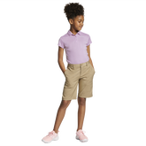 Dri-FIT Big Kids' (Girls') Short Sleeve Golf Polo