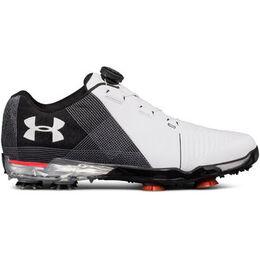 Under Armour Spieth 2 BOA Men's Golf Shoe - White/Black
