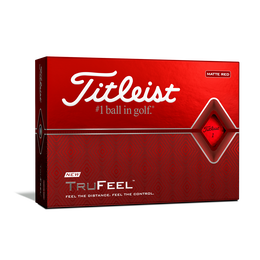 TruFeel Red Golf Balls