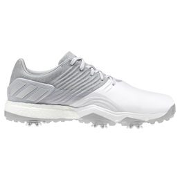 adidas adipower 4ORGED Men's Golf Shoe - Silver
