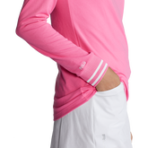 Alternate View 2 of Performance Tipped Jersey Quarter-Zip Pull Over