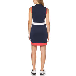 Sail Away Collection: Colorblock Sleeveless Golf Dress