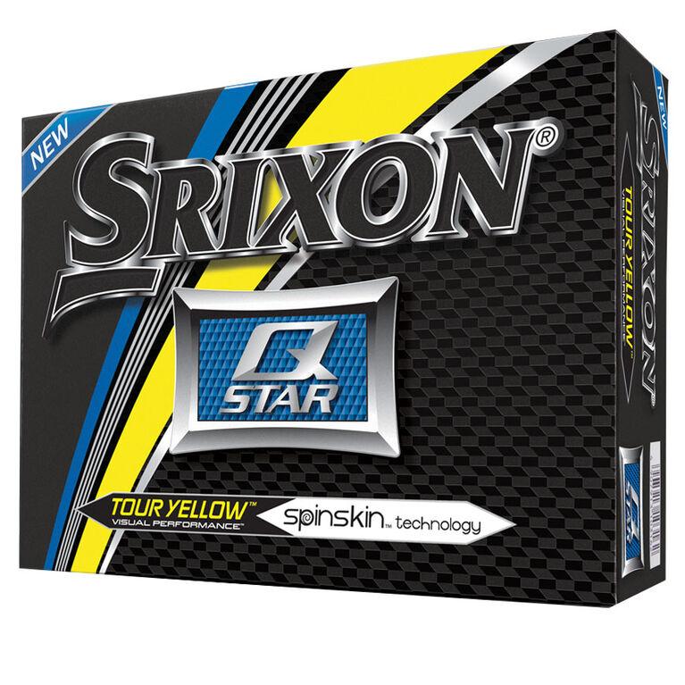 Srixon Q-Star Golf Balls - Tour Yellow