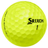 Alternate View 1 of Srixon Q-Star Tour Yellow Golf Balls - Personalized