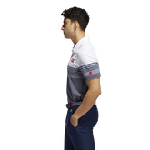 Alternate View 3 of USA Golf Ultimate365 Stripe Polo Shirt