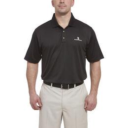 Short Sleeve Oval Texture Polo