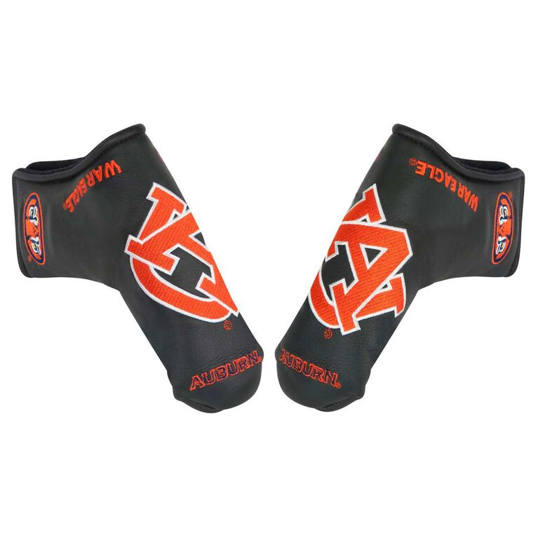 Team Effort Auburn Black Putter Cover