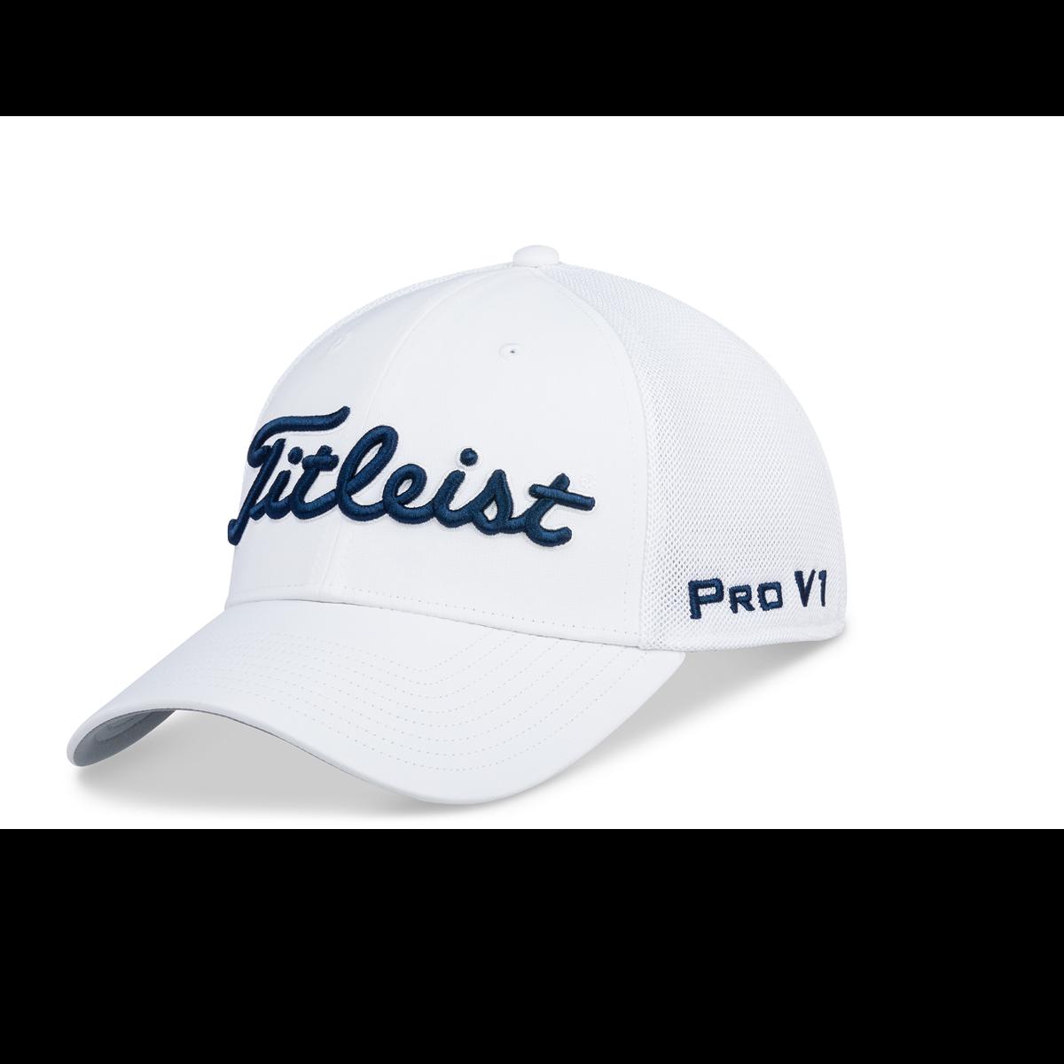 05bb3914dcc Titleist Tour Sports Mesh White Hat